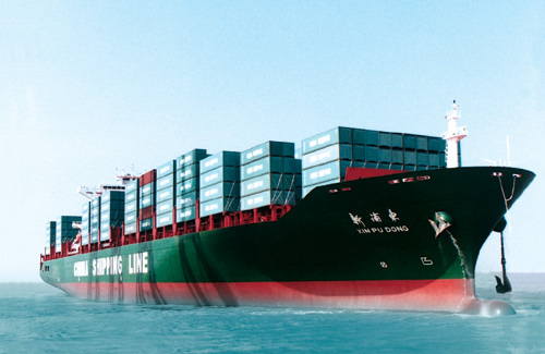 Sea cargo services in Dubai